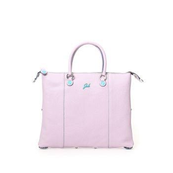 GABS G3 Plus Line Large Lilac Leather Handle Bag