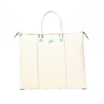 GABS G3 Plus Line Large Milk Leather Handle Bag