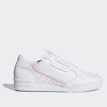 Scarpe Donna ADIDAS Sneakers linea Continental 80 Bianco e Rosa