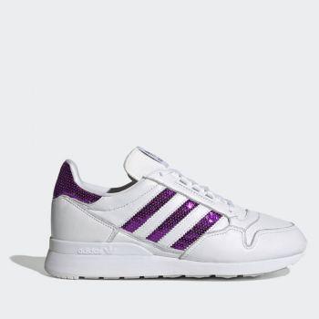 Scarpe Donna ADIDAS Sneakers linea ZX 500 W colore Bianco e Viola