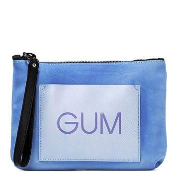 Pochette Donna GUM linea Burningcolors colore Azzurro