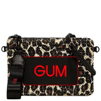 Pochette Donna GUM Numbers Leopard Media
