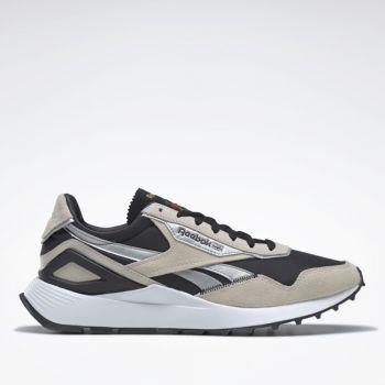 Scarpe Uomo REBOOK Sneakers linea CL Legacy AZ colore Stucco Nero e Silver