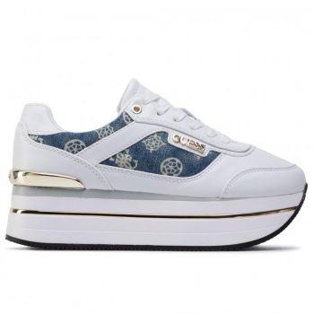 Scarpe Donna GUESS Sneakers Linea Hansin Colore Bianco