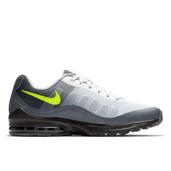 Scarpe NIKE Sneakers linea Air Max Invigor colore Nero - Grigio - Giallo