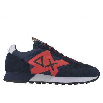 Scarpe Uomo Sun68 Sneakers Jaki Goes Party Navy Blue
