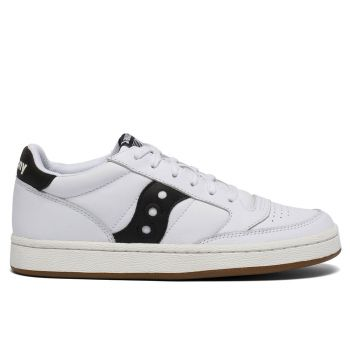 Scarpe Uomo Saucony Sneakers Jazz Court White - Black