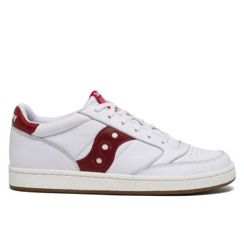 Scarpe Uomo Saucony Sneakers Jazz Court White - Red