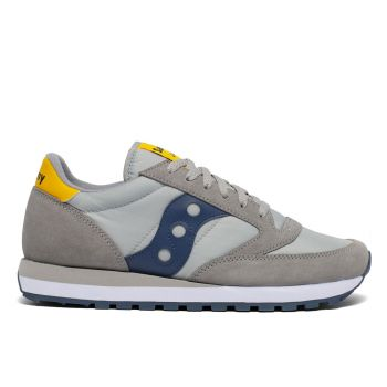 Scarpe Uomo Saucony Sneakers Jazz Original Grey - Yellow