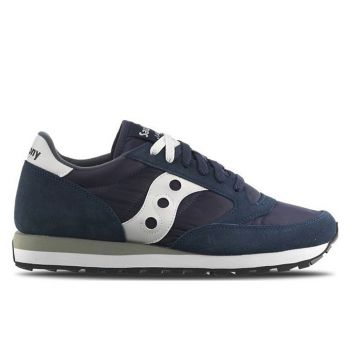 Scarpe Uomo Saucony Sneakers Jazz Navy Blue - Bianco