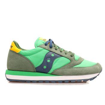 Scarpe Uomo Saucony Sneakers Jazz Original Verde - Giallo