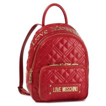 Zaino Donna Piccolo LOVE MOSCHINO linea Quilted Rosso