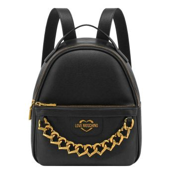 Zaino Donna LOVE MOSCHINO linea Heart Chain Nero