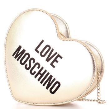 Borsa Donna a Cuore con Tracolla LOVE MOSCHINO linea Sweet color Platino