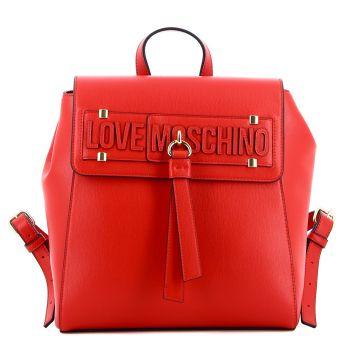 Zaino Donna Con Pattina LOVE MOSCHINO colore Rosso