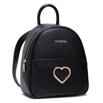 Zaino Donna LOVE MOSCHINO linea Cut-Out Heart colore Nero