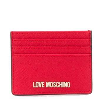 Portacarte Donna LOVE MOSCHINO Rosso