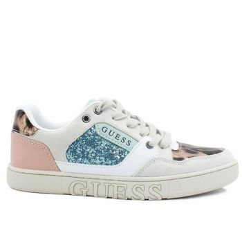 Scarpe Donna GUESS Sneakers Linea Julien Colore White - Black