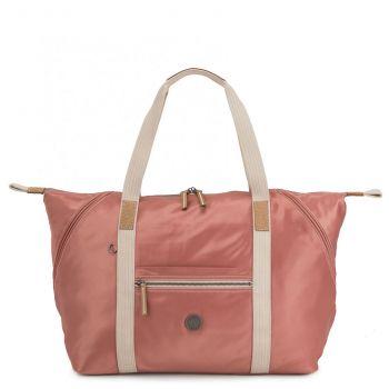 Borsa da Viaggio a Spalla KIPLING Art M Colore Delicate Pink