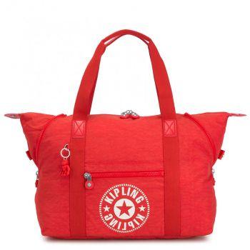 Borsa da Viaggio a Spalla KIPLING Art M Colore Active Red Nc