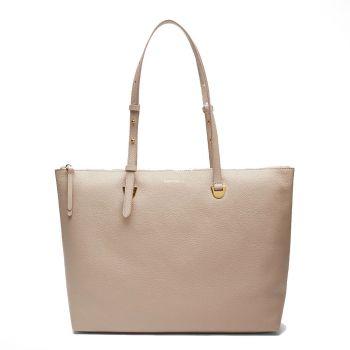 Borsa Shopping COCCINELLE Linea Lea in Pelle Powder Pink
