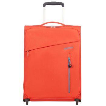 Trolley Cabina Semirigido 55cm 2 Ruote 1,35kg - American Tourister Litewing Rebel Orange