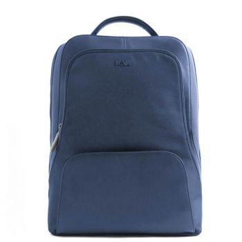 "Zaino Light Blue con Porta Pc 15,6"" - NAVA Linea Lounge"