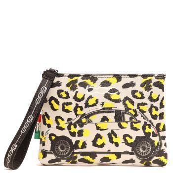 Pochette a Mano GABS Luanda M Stampa Camaleonti Leopardo