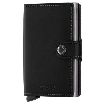 Porta Carte con Clip SECRID linea Original in Pelle Nera con RFID