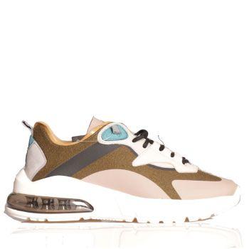 Scarpe Uomo D.A.T.E. Sneakers linea Aura Aukland colore Army