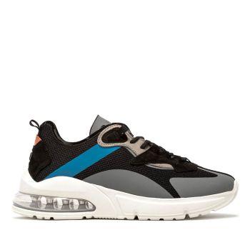 Scarpe Uomo D.A.T.E. Sneakers linea Aura Net colore Nero