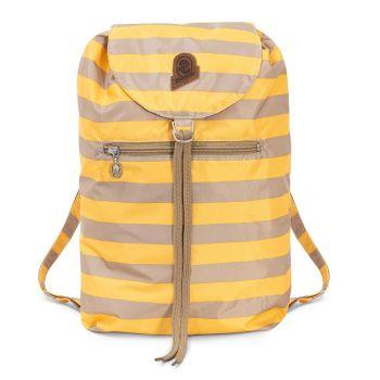 Zaino in Tessuto INVICTA modello Minisac Heritage Vintage colore Yellow e Beige