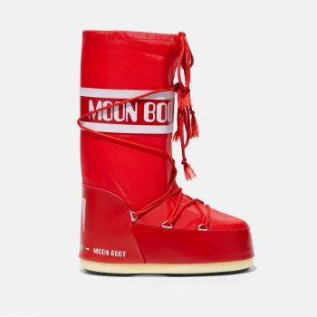 Stivali da Neve Unisex MOON BOOT Nylon Colore Rosso