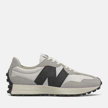 NEW BALANCE 327 Line – Sea Salt Black Suede and Mesh Sneakers for Men