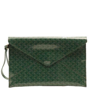 Pochette Donna GUM linea Multiprint  colore Verde Inglese