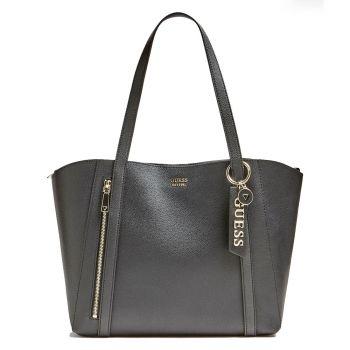 Borsa Donna Shopper a Spalla GUESS Linea Naya Colore Nero