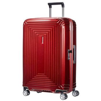 Trolley Medio 69cm 4 Ruote Leggero 2,9 kg  - Samsonite Neopulse Metallic Red