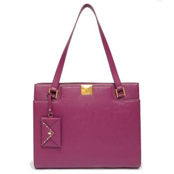 Borsa Donna Shopping a Spalla LIU JO colore Malvasia