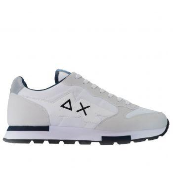 Scarpe Uomo Sun68 Sneakers Niki Solid colore Bianco