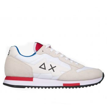 Scarpe Uomo Sun68 Sneakers Niki Solid colore Bianco  Z31118-01