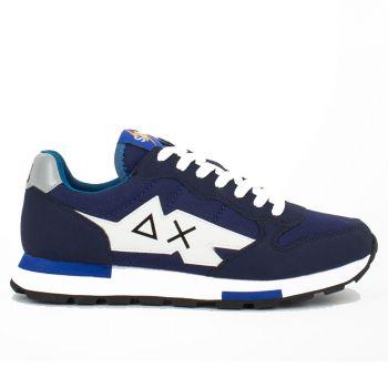 Scarpe Uomo Sun68 Sneakers Niki Solid Navy Blue