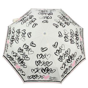 Ombrello Boutique MOSCHINO Linea Hearts Con Pendente a Cuore Colore Beige