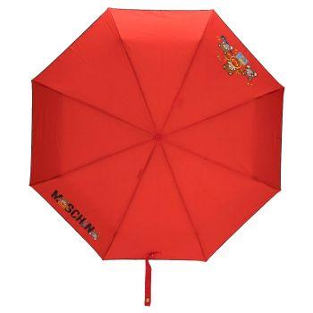 Ombrello MOSCHINO Tom Band Con Stampa Colore Rosso