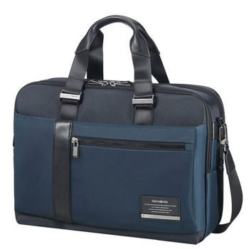 "Cartella Uomo Porta Pc 15,6"" e Tablet - Samsonite linea Openroad/Bailhandle Space Blue"