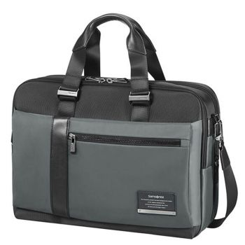 "Cartella Uomo Porta Pc 15,6"" e Tablet - Samsonite linea Openroad/Bailhandle Eclipse Grey"