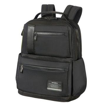 "SAMSONITE Black Fabric Laptop 14.1"" Backpack Openroad Line"