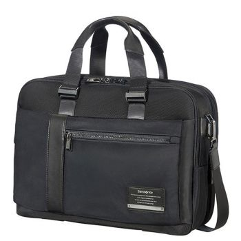 "Cartella Uomo Porta Pc 15,6"" e Tablet - Samsonite linea Openroad/Bailhandle Jet Black"