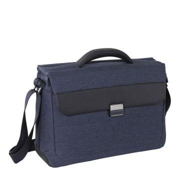 """Cartella Uomo Porta Pc 15,6"""" Nava Linea Passenger Colore Blue"""