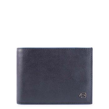 Portafoglio Uomo con Portamonete Piquadro In Pelle Blu - PU257B2SR linea B2S