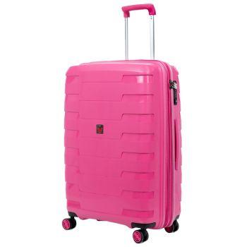 Trolley Medio Espandibile 70cm Roncato Spirit Pink 4 Ruote Rigido 3,5kg